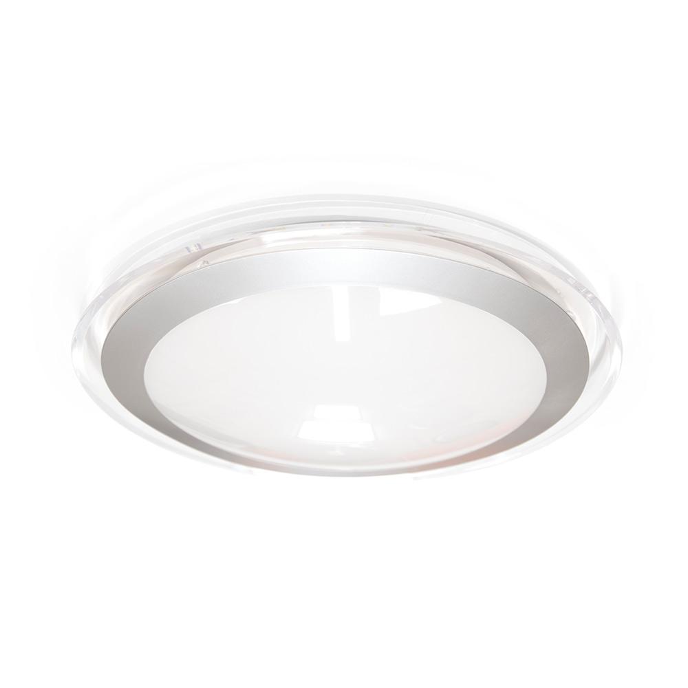 Накладной светодиодный светильник ALR-16 AC170-265V 16W d330мм*H70мм Холодный белый 1400ml (Прозрачный корпус) Estares Maysun
